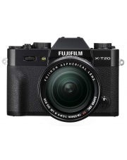 FujiFilm X-T20 + 18-55 mm f/2.8-4.0 OIS czarny