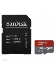 Sandisk microSDHC 128 GB ULTRA 100MB/s C10, A1 + adapter SD
