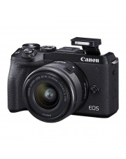 Canon EOS M6 Mark II + 15-45 IS STM + EVF (wizjer)