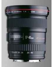 Canon EF 17-40 mm f/4L USM + UV 77 GRATIS