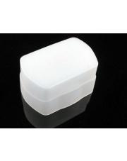 Dyfuzor biały do lampy błyskowej (Nikon Speedlight SB-600 / Sunpak PZ42X) - W MAGAZYNIE