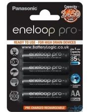Panasonic Eneloop Pro R6/AA 2500 mAh (x4-blister)