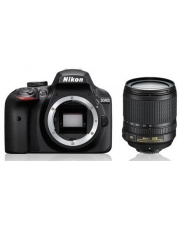 Nikon D3400 + Nikkor 18-140 VR - w magazynie